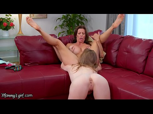 MommysGirl Busty Brat Blackmails her Step-MILF Alexis for Pussy