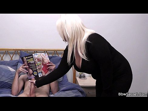 Busty blonde and husband caught cheating