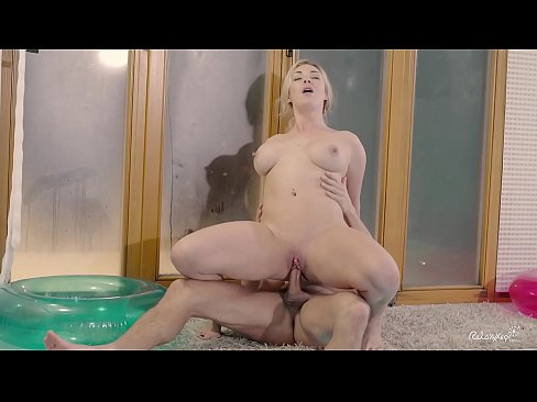 RELAXXXED – Busty British blonde Victoria Summers fucked at the pool