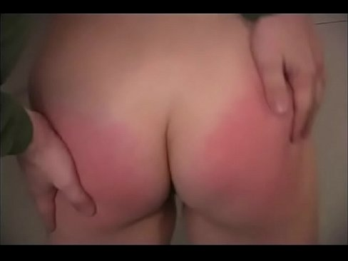 Gag and spank for bbw bad girl