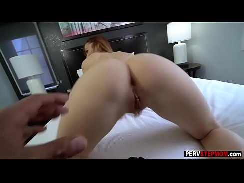 Bad stepson recorded a perverted stepmom when she sucked big cock