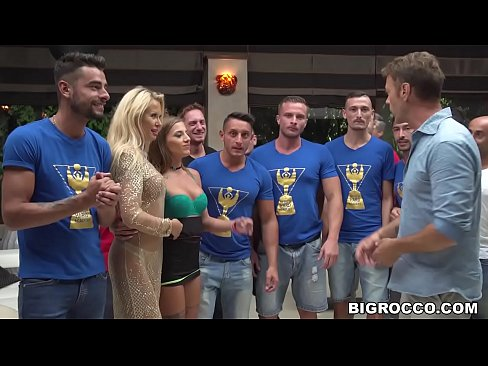 Huge anal orgy at Rocco's Hard Academy