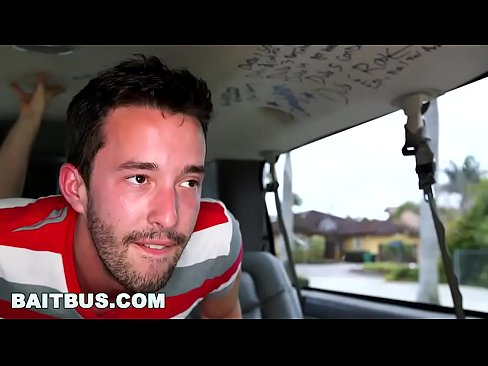 BAIT BUS - Dude With Dick Piercing Gets Gay Sex In Public - XVIDEOS COM
