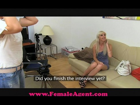 Fake Female Agent Videos