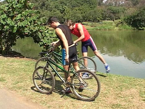 Gay lovers eating cock and riding