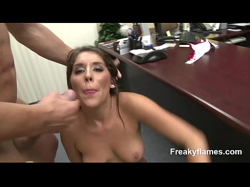 Sexy Teen amateur likes get fat pole fuck her slit & fuck in mouth till cumshot