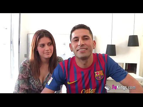 The big titted little doll in love with the Brazilian who hits on them with Samba. Suri and FabioXXX Sex Videos 3gp