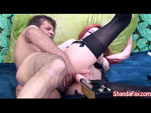 Canadian Milf Shanda Gets DP'd with Fuck Machine & Hard Dick!