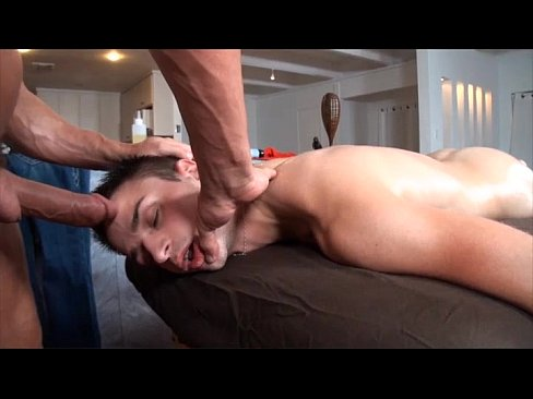 GayRoom Hot Twink Gets Oiled and Pounded
