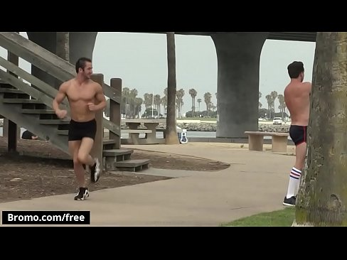 Bromo - Logan Cruise with Lucas Knight at Bareback Cruising Part 3 Scene 1 - Trailer preview