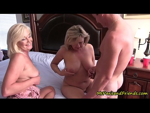 Son fucks mother and aunt