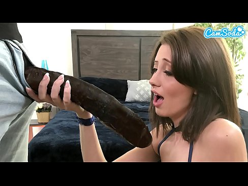 Camsoda - Tiny Teen Creampie Crushed By Big Black Dick BBC