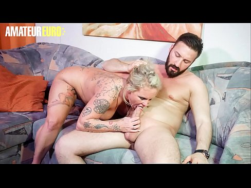 AMATEUR EURO - German Blonde Valentina Is Doing First Sex Tape
