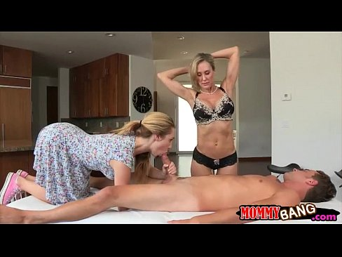 Threesome with a Jersey Milf
