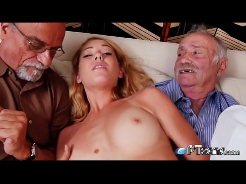 Old farts examining the tightest pussy they have ever seen's Thumb