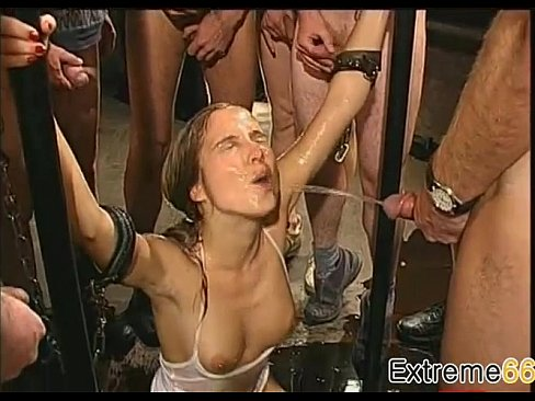 Group pissing on german sluts