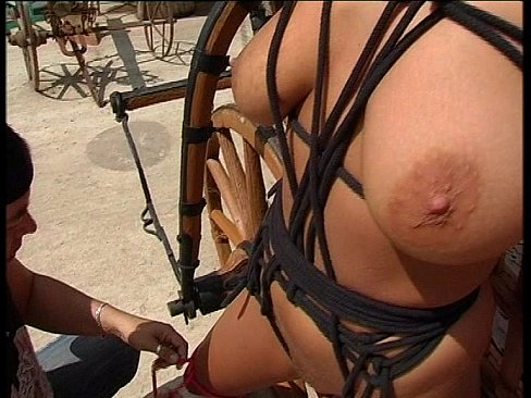 Bondage and Anal lesson for a BUSEN