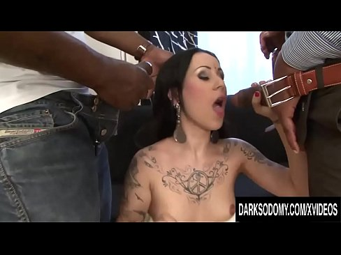 lulu jung takes 3 dicks in her asshole