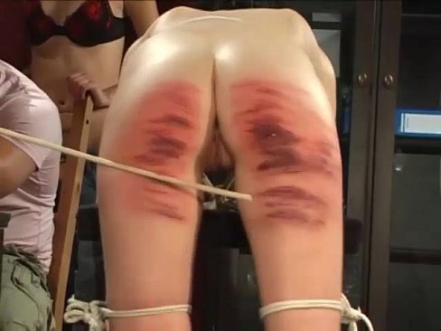 Spanked and fucked in the ass