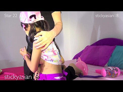 StickyAsian18 compilation girl teens love big cock in mouth