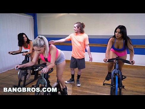 bangbros curvy latina rose monroe fucked in spin class by brick danger