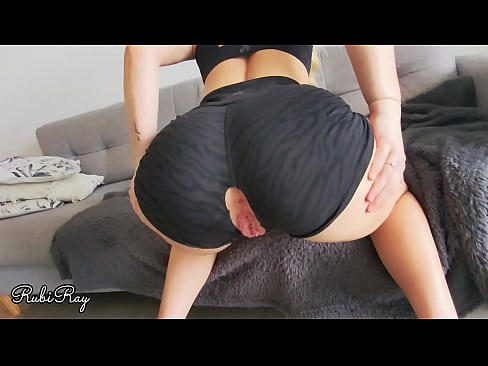 Teasing Ex Boyfriend While Training To Fuck Me Hard And Fill Me Up