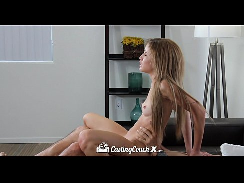 HD CastingCouch X Short cutie Natasha White shoots her first porn