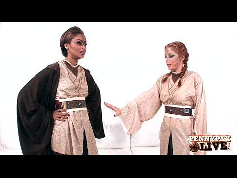 Hottest Lesbian Cosplay With Penny Pax &