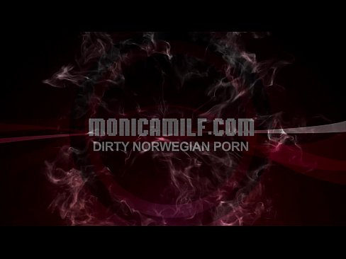 Dirty Norwegian Monicamilf compilation with squirting and pegging