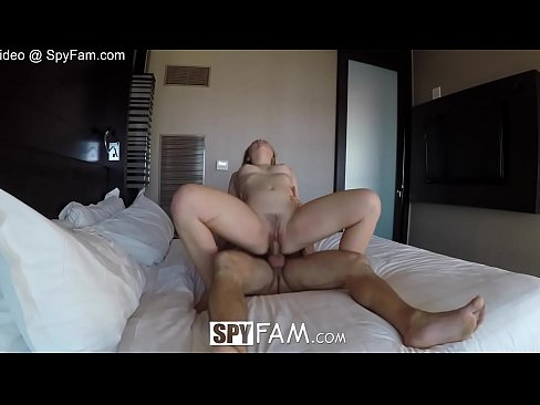 SpyFam Aggressive fuck and creampie with eager step sister Alyssa Cole
