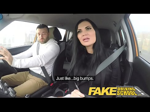 Fake Driver School Big Tits
