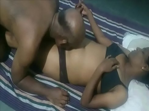 Bald man amazing sex with maid