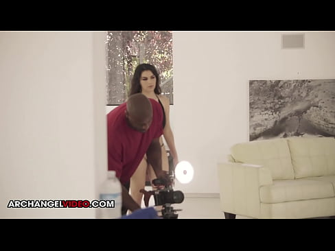 Verification video - Valentina Nappi with Prince Yahshua  Interracial Behind The Scenes ArchAngel
