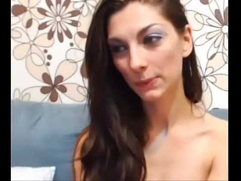 great orgasm with face in camera