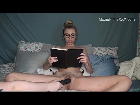 Reading A Book While Cumming