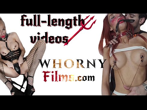 Hot big tits brunette in leash playing pet girl gets hardcore submissive fuck and pussy squirted - WhornyFilms.com