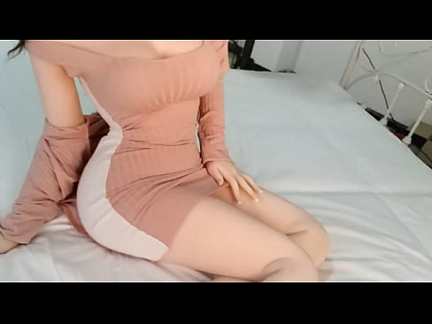 Clip sex ESDOLL 165cm Silicone Sex Angel Stand Doll