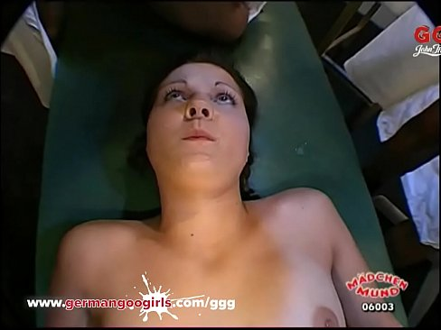They are young and inexperienced but that doesn't mean they can't get covered with cum! German Goo Girls!