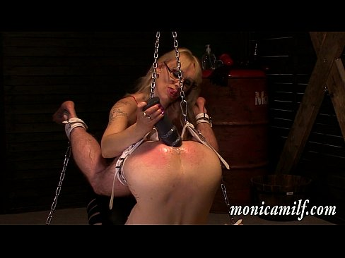 Inside monicamilf s dungeon 30 min as a femdom slave - 3 part 2
