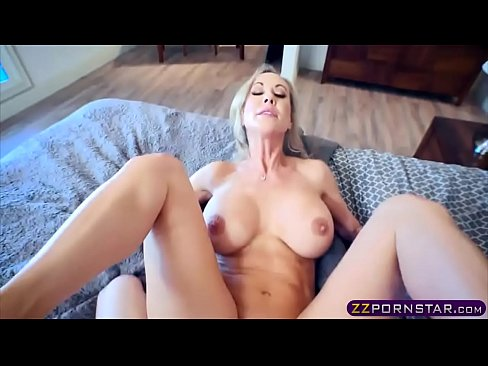 Hot Milf With Big Boobs Fucks With Her Inexperienced Stepson