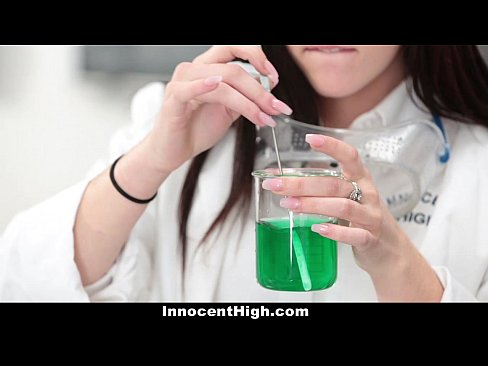 InnocentHigh – Hot Girl Fucked In Chemistry Lab by Teacher