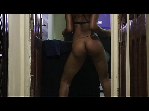 Sexy Black Ebony Dancer Twerks, Deepthroats and Has Rough Sex