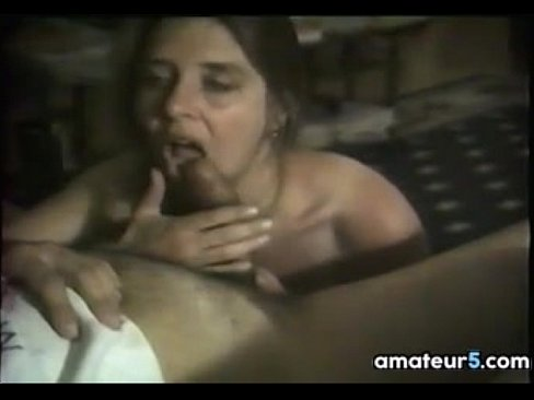 Mother gives blowjob
