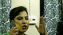 Amazing Sex with Indian xxx hot Bhabhi at home! with clear hindi audio