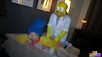 Marge Simpson Delivers Homer Simpson some amazing throat