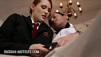 Sexy Redhead Emy Russo Surprise For The Science
