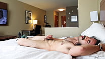 Jerking Off in the Hotel but the maids DON'T cum in to help me DUE TO COVID :(