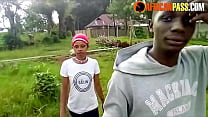 Young African Girl Picked Up And Fucked In Publ