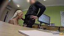 LOAN4K. Charmer didnt expect the banker to ask her to get fully naked
