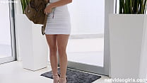 Horny hot blonde walked into the RIGHT AUDITION!